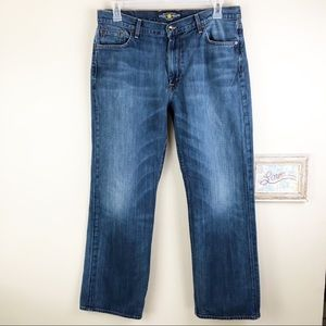 Lucky Brand Distressed 181 Jeans Relaxed Straight